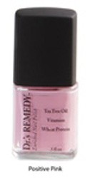 Fungal Nail Varnish Positive Pink